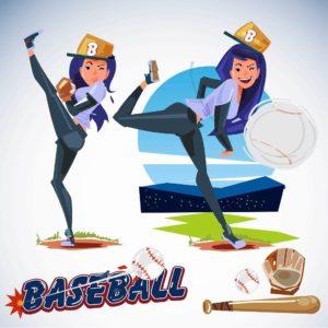 【女子野球が熱い】野球経験のある女性有名人まとめ